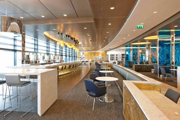 United Airlines Lounge, London Heathrow Airport