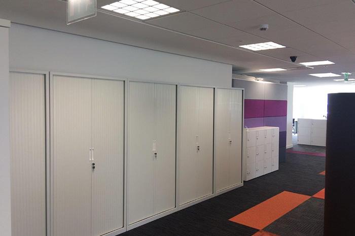 HSBC Reading cabinets